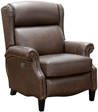 Barcalounger Reclining Leather Chair