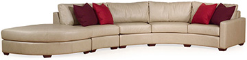 Leather Sofa/Sectional